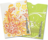 Swirls Collection Passport Sleeve (pack of 2)