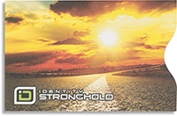 Roadway Sunset Secure Sleeve
