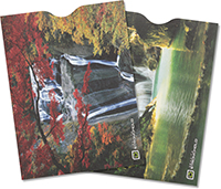 Waterfall Collection Passport Sleeve (pack of 2)