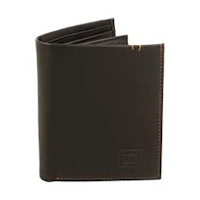 Brown 6-slot Bifold Leather Wallet