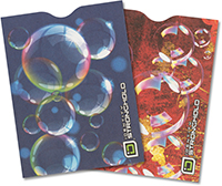 Bubbles Collection Passport Sleeve (pack of 2)