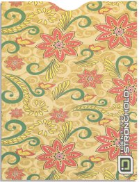 Salsa Floral Passport Sleeve