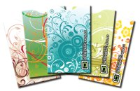 Swirls Collection Secure Sleeve (pack of 5)