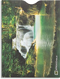Lagoon Waterfall Passport Sleeve