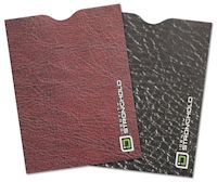 Leather Look Collection Passport Sleeve (pack of 2)