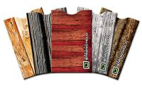 Wood Look Collection Secure Sleeve (pack of 5)