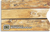 Honey Blonde Wood Look Secure Sleeve