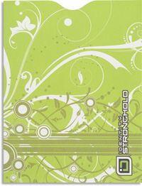 Pistachio Swirls Passport Sleeve