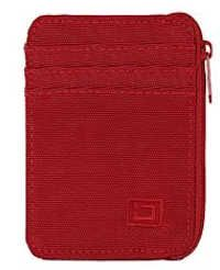 Red Mini Nylon RFID Wallet