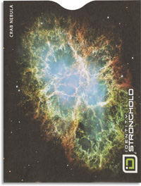 Crab Nebula Passport Sleeve